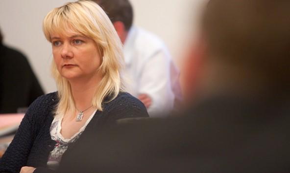 """Anita Kerstein befürchtet den """"kulturellen Kahlschlag"""" in Osttirol."""