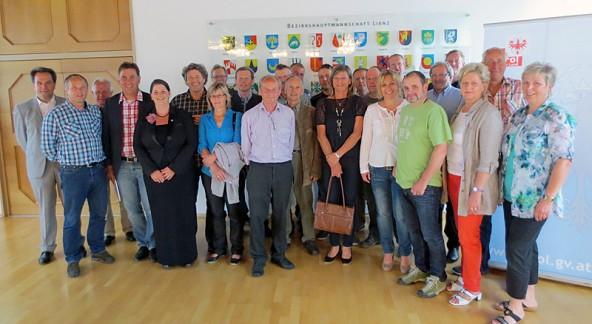 Der Nationalpark-Beirat wurde neu besetzt und traf sich mit Bezirkshauptfrau Olga Reisner.
