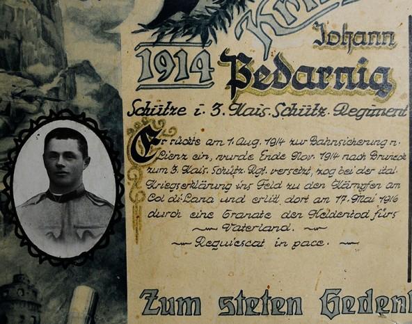 7347_2_Kriegsteilnehmer-1914---1918---Pedarnig-Johann-vlg.-Pedarnig-in-G...