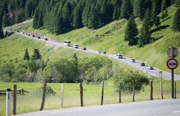 Obwohl sie mitten durch den Nationalpark führt, zählt die Felbertauernstraße nicht zum Nationalpark-Territorium.