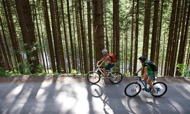 Die Radsaison geht zumindest entlang der Isel und der Drau zu Ende. Foto: Ramona Waldner