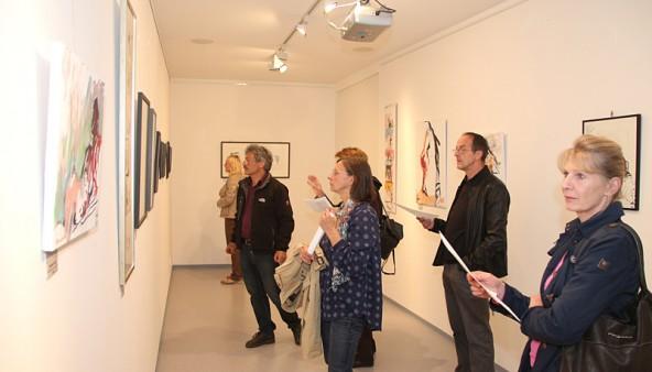 Ausstellung Herwig Zens in Hopfgarten in Osttirol.