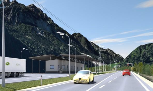 Gewicht, Bremsen, Ladungssicherung – ab Frühjahr 2015 werden Lkw, Busse und zum Teil auch Pkw in Leisach kontrolliert.