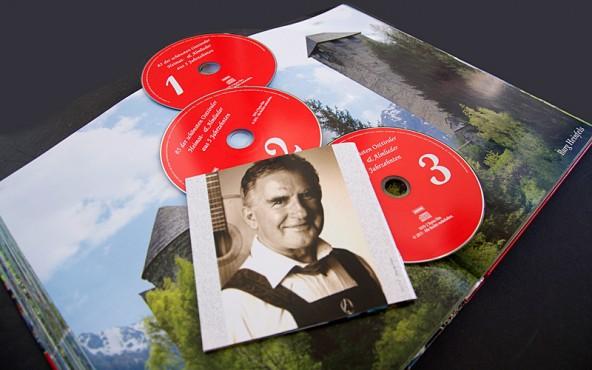 """Bildband, 3-fach-CD mit Osttiroler Volksmusik und die Dellacher-CD gibt es im Osttiroler fachhandel und beim """"Osttiroler Bote"""", aber auch direkt bei Louis Holzer."""