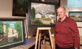 Hobbymaler Kurt Gonner stellt in Thurn aus