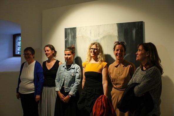 Die anwesenden Künstlerinnen