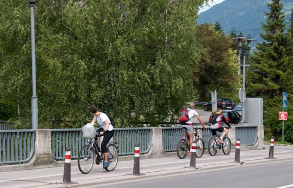 """Kein Zufall. """"Radeln gegen die Regeln"""" ist vor allem entlang der Amlacherstraße eher die Regel als die Ausnahme."""