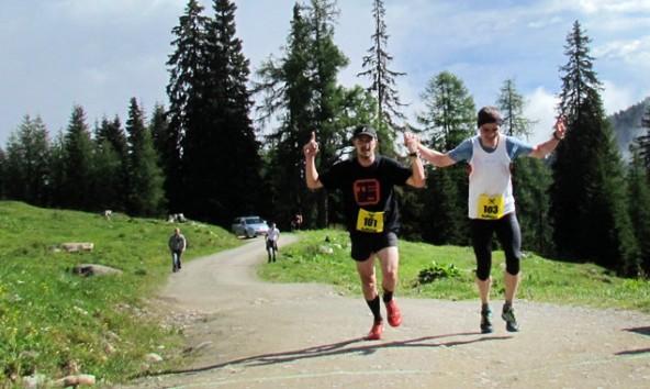 Martin Schneider und Ingemar Walder gingen zeitgleich mit Streckenrekord durch's Ziel.
