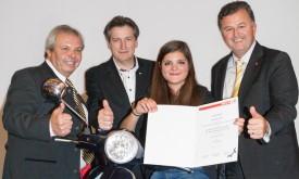 Katharina Told ist bester Tourismuslehrling Tirols
