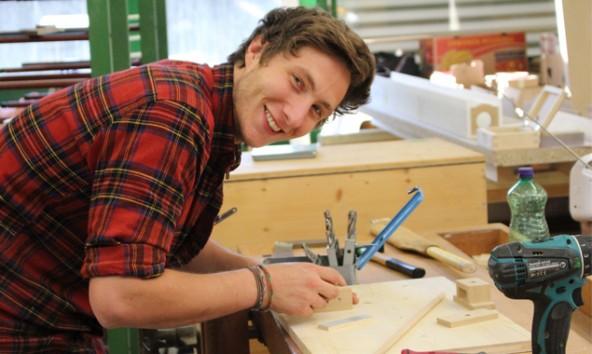 Michael Wieser aus Strassen gehört zu den 16 besten Jung-Tischlermeister.