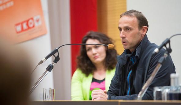 Präzise, detailliert und in verständlichen Worten schilderte Günter Salchner, Geschäftsführer Regionalentwicklung Außerfern, wie am Lech durch Natura 2000 fast 100 Millionen Euro in die Wirtschaft gepumpt wurden.