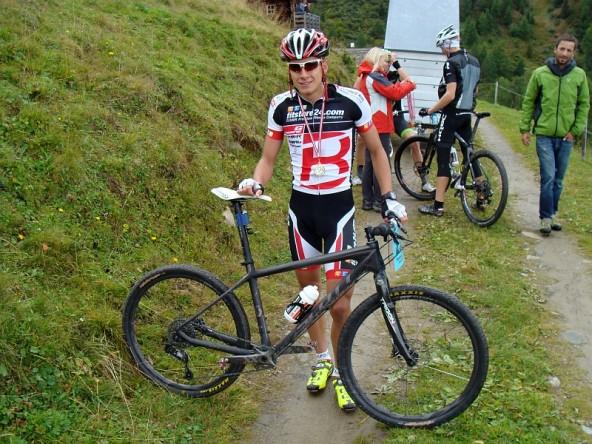 Simon Schupfer, schnellster Mountainbiker.