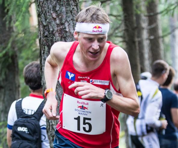 """Wieder mit einer starken Berglaufzeit dabei: Andreas Goldberger, unterwegs für """"Wings for Life""""."""