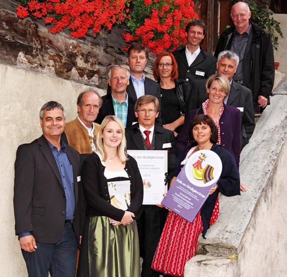 Die Delegation der Kalser in Graubünden.