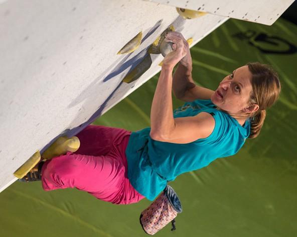 Lokalmatadorin Lisi Steurer holte den ersten Titel bei den Frauen.