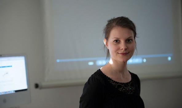 Sarah Klammer entwirft Apps, liebt London und die Küche ihrer Mutter.