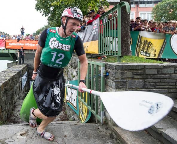 Der Dolomitenmann hat viele Helden. Einer der größten war am 6. September in Lienz Stephan Brodicky, 24 Jahre alter Schlussmann des Siegerteams.