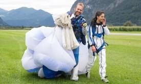 Video: Verena springt aus 4000 Metern ab