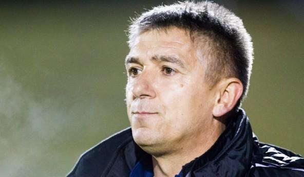 Ein nachdenklicher Matrei-Trainer Marko Bajic.