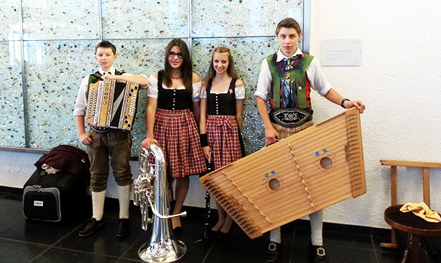 """Ensemble """"BeDaMiSt"""" brilliert in Innsbruck"""