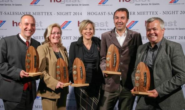 """Dieter Mayr-Hassler (links) überzeugte mit seinen Leistungen die Jury. Er erhielt den """"Innovatio""""-Award in der Kategorie Kommunikation. (Foto: hogast/Neumayr/SB)"""