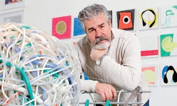 "Josko Eterovics ""Circles and Spheres"" sind ab 24. Oktober in der Galerie 9900 zu sehen. (Foto:  Galerija Remek Djela)"