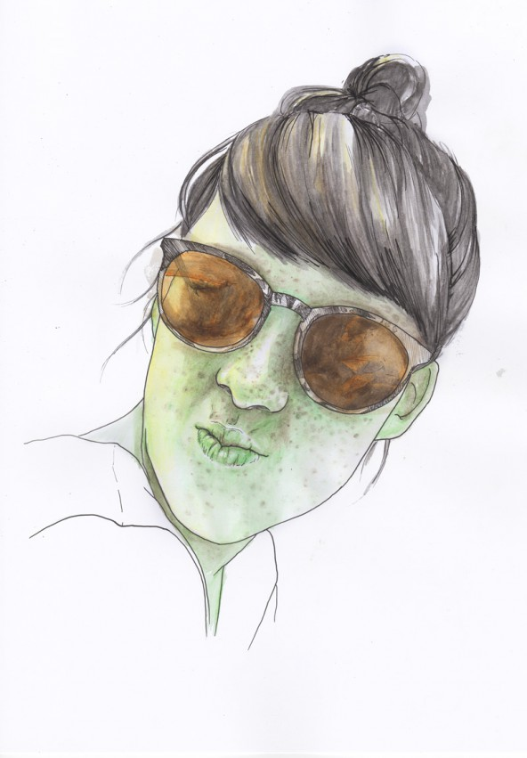 Isabell Gander, porträtiert von Linda Steiner.