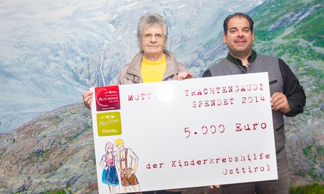 Anni Kratzer und Marcel Karolyi Steiner. Foto: Brunner Images