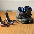 Snowboardbindung inkl. Schuhe