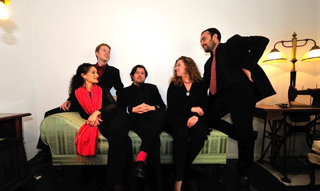Ensemble Fisarchi (v.l.) Annamaria Vassalle, Daniel Stratznig, Daniele Delungo, Laura Gorkoff, Andrea Vassalle