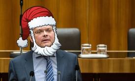 Hauser kämpft für den Bart von St. Nikolaus