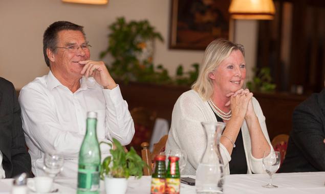 Die neuen Besitzer des Hotels Sonne und des Lienzer Stadtsaales: Gerard und Cathinka van Tongeren-Hylkema. Fotos: Martin Lugger.