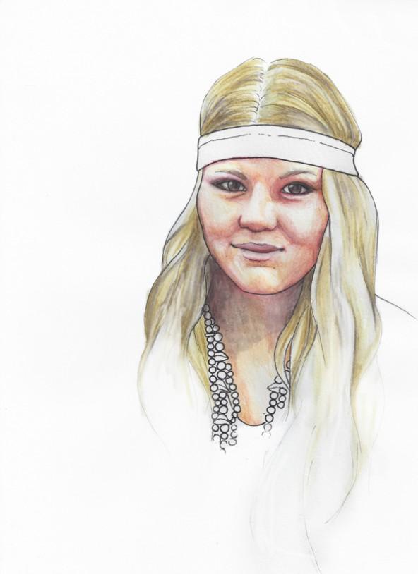 Viktoria Anna Köll, porträtiert von Linda Steiner.