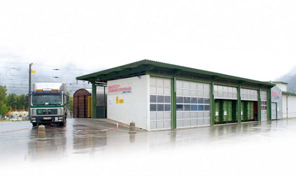 Das Altstoff-Sammelzentrum am Lienzer Lastenbahnhof. Foto: Stadt Lienz