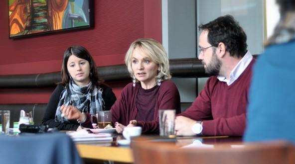 Christina Gruber, Elisabeth Blanik und Karl Zabernik wollen die mobile Jugendarbeit, ergänzt um echte Sozialarbeit durch zumindest einen Streetworker.