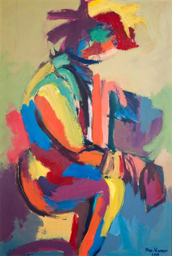 Marianne Karner: Acryl, 102 cm x 70 cm