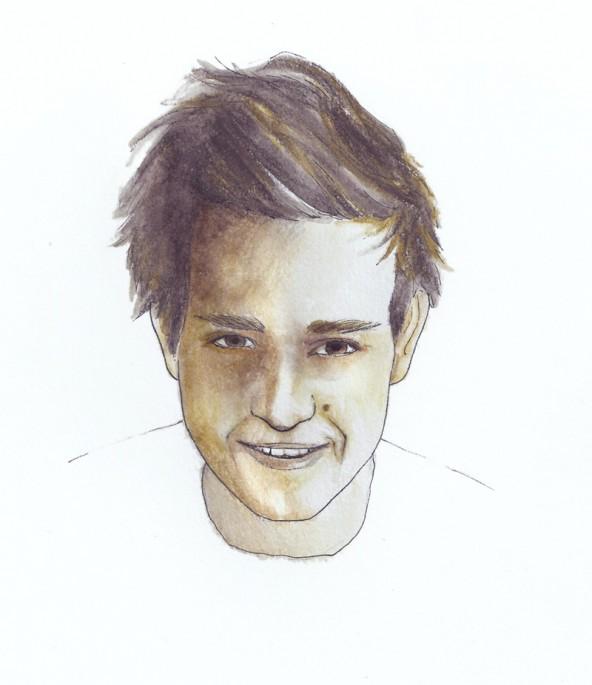 Lucas Kofler aus Lienz, porträtiert von Linda Steiner.