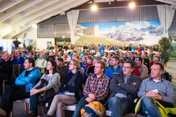 Recht gut besucht waren die Vortragsabende des diesjährigen Skitourenfestivals.