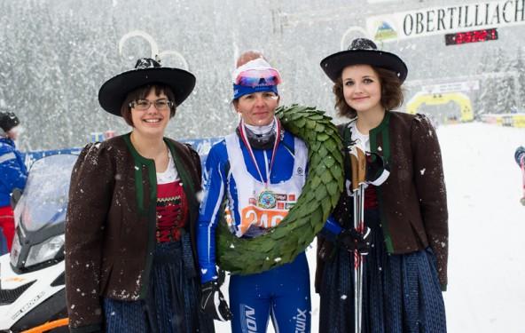 im Vorjahr dritte, heuer Schnellste: Andrea Reithmayr aus dem Stubaital.