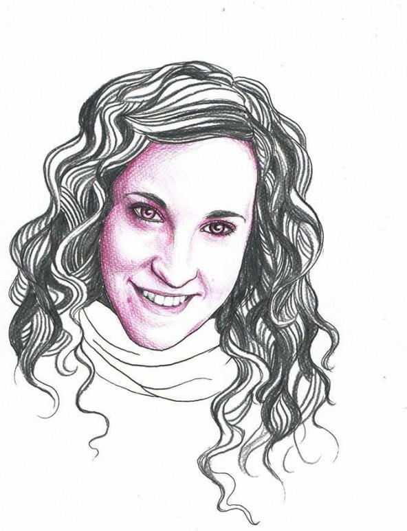 Miriam Reisinger, porträtiert von Linda Steiner.