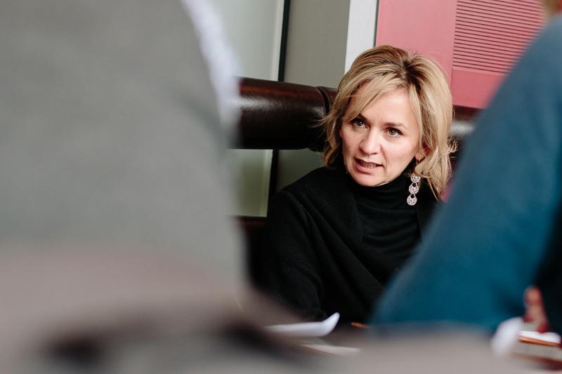 Bürgermeisterin Elisabeth Blanik widerspricht Pargger und sagt, den Sicherheitsdialog gebe es längst. Fotos: Marco Leiter