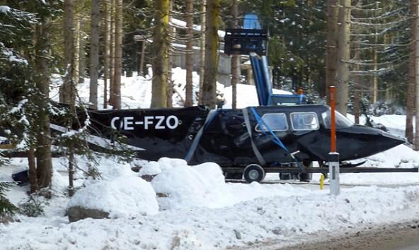 Ein Gast landete mit dem Flugzeug in Obertilliach, nächtigte aber ein paar Dörfer weiter. Fotos: Aquilanera