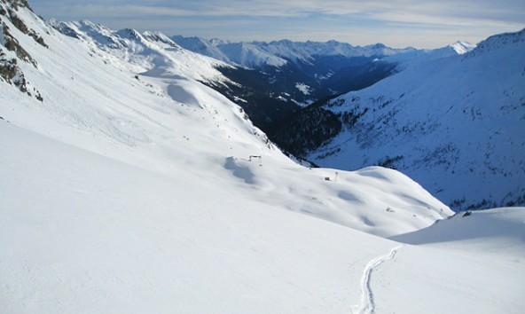 """Das Gebiet um den Staller Sattel ist ein Skitouren-Eldorado und Austragungsort der ersten """"Oberseetrophy"""". Foto: Siegfried Kristler"""