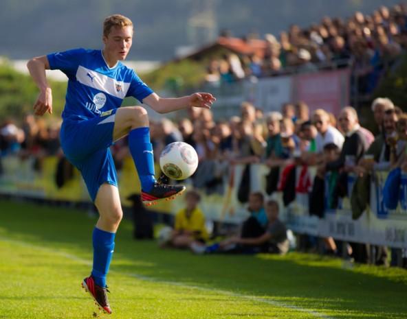 Daniel Kleinlercher arbeitet künftig als Ballzauberer für Rapid Lienz. Fotos: Expa/Groder
