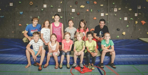 Nach ihrem Erfolg mit einem Kinder-Kletterkurs wollen Clemens und Simon jetzt auch Jugendliche und Erwachsene für das Klettern begeistern.