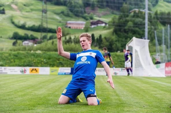 Matrei ade! Mario Kleinlercher ist ab dem Frühjahr 2015 in Grünweiß unterwegs.