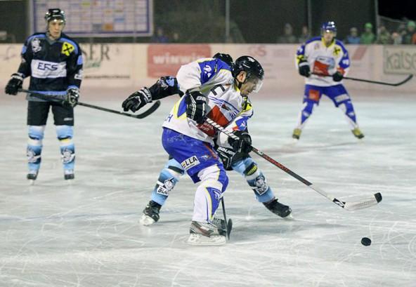 Leisach-Kapitän Roland Brunner schoss das 2:0.