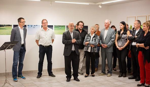 70 Ausstellungen und Events gingen in der Kunstwerkstatt bisher über die Bühne. In der Mitte Rudi Ingruber, der die Kulturinstitution leitet.