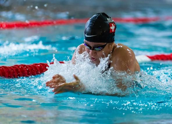 14 Starts, 13 Medaillen und sechs Meistertitel – Christina Nothdurfter schwamm bei den Steirischen Meisterschaften allen auf und davon. Fotos: GEPA Pictures/Günther Flöck