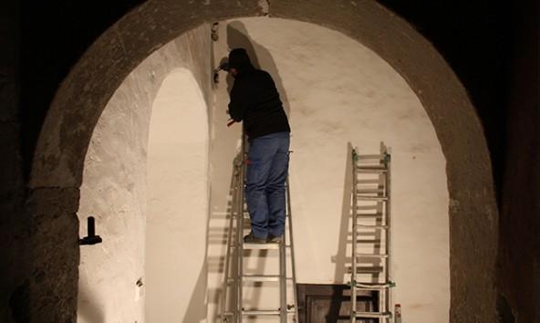 Die Sanierung soll 2016 abgeschlossen werden. Foto: Museum Schloss Bruck/Stefan Weis